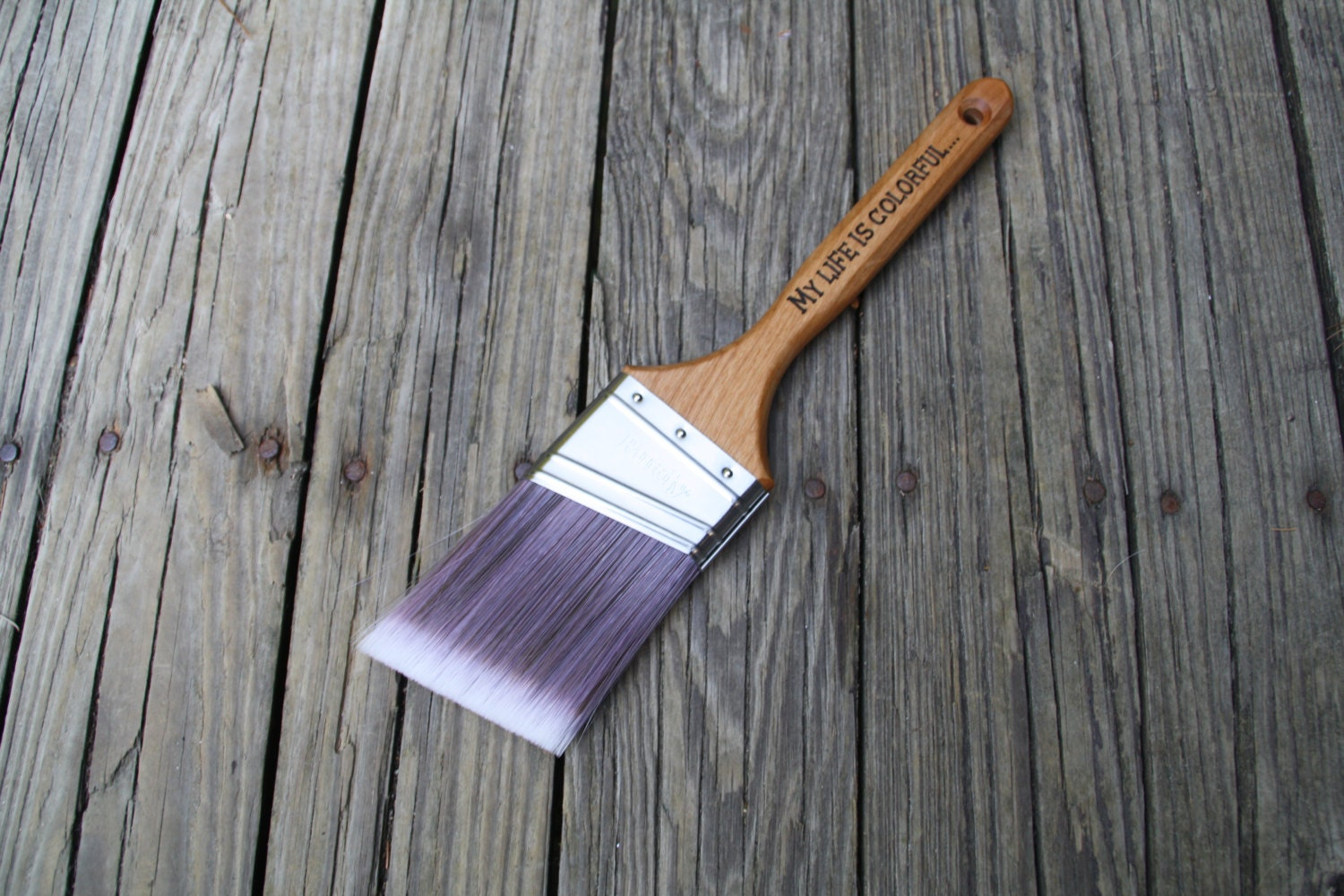 Personalized Paintbrush House Painters Gift 5th