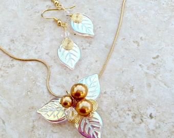 Midsummer Woodland Fairy Jewelry Set