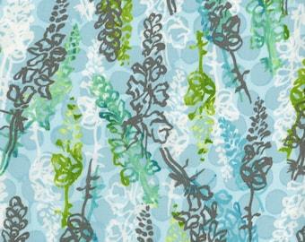 RJR Urban Garden Leslie Tucker Jenison Snappy dragons Maricopa Jasper Blue Fabric 3358-001 BTY 1 Yd