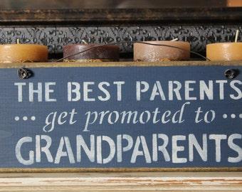 wood sign, wooden sign, parents, grandparents, birth announcement,gift,grandma, grandpa