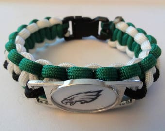 Philadelphia Eagles Paracord Bracelet