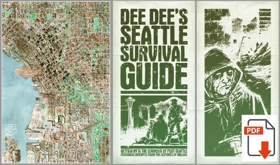 Seattle Doomsday Map and Book PDF