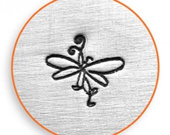 Impress Art 6mm Swirl Butterfly Metal Stamp Design Stamp  Decorative Stamp