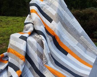 Quilt, quilts, bed quilt, queen quilt, twin quilt, throw quilt, man quilt, masculine quilt, boy quilt, guy quilt, bedding, bedroom, man gift
