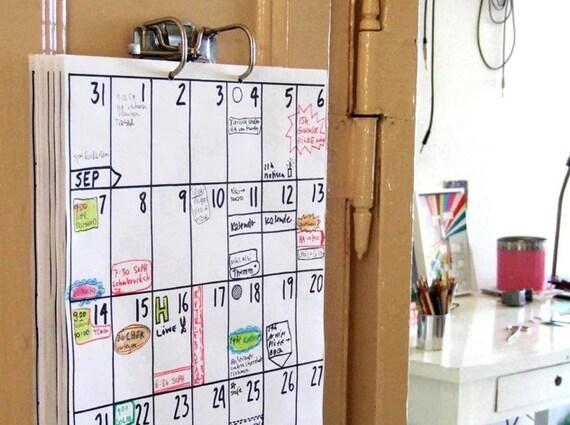 Kühlschrank Jahreskalender : Kalender 2018 2019
