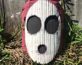 Super Mario Bros Shy Guy Mask Wall Decor