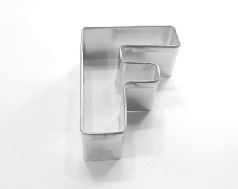 Capital Letter F Cookie Cutter