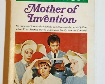 1969 SC Mother of Invention (The Flying Nun #3) William Johnston Ace paperback.  Sally Field ABC TV Show