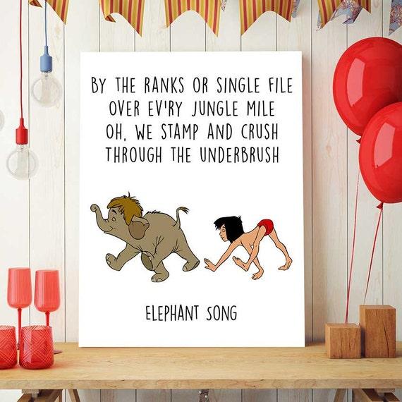 Jungle Book Printable Disney Quotes Mowgli And Junior