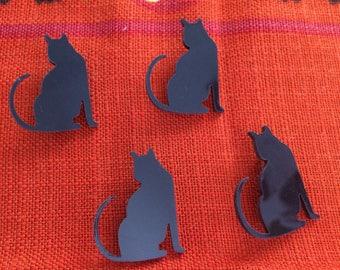 Small kitty cat brooch pin pinback
