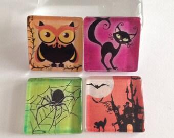 Halloween Magnets, Fridge magnets, Cubicle decor, Office decor, Teacher gift, Locker magnets, Gifts for friends, Halloween decor Hallows Eve
