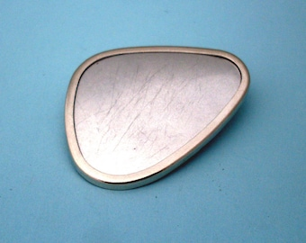 Silver Plated Pin Setting Frame Mounting 113ST