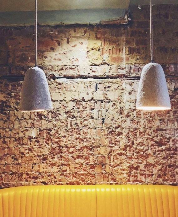 4 Design hängende Lampe aus Pappmaché-Lampen Designpapier