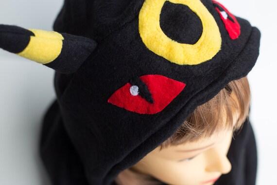 Umbreon Hat - LAST ONES! - Pokemon Hat - Pokemon Scoodie - Umbreon Scoodie - Umbreon Costume - Pokemon Costume - Pokemon Scarf - Umbreon Cos 2Esu8