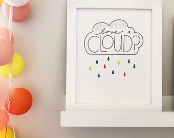 Wall Art: Who Doesn't Love a Cloud?