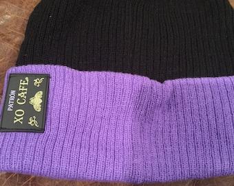 Patrón XO knitted hat