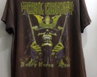 Vintage Ritual Carnage Tshirt 1990s