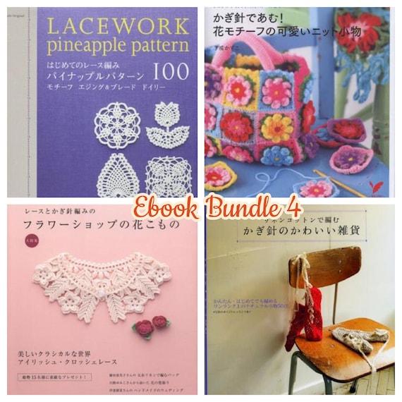Easy Crochet Pattern 4 Books Japanese Crochet Patterns Ebook