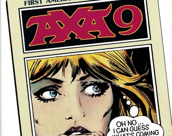 AXA 9 - First American Edition -  The Escapist / The Starstruck / The Betrayed - 1988 - B & W comic