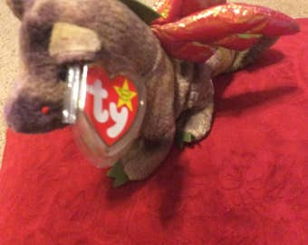 "Retired, RARE, Mint condition, collectible, original,  Ty Beanie Babies""Scorch"" beanie baby"