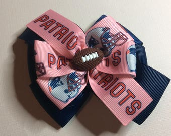 New England Patriots bow