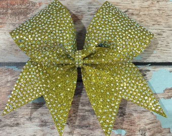 Fullout Rhinestone Cheer Bow Pick Your Color