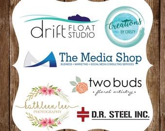 Custom Logo Design, Photography Logo, Branding Kit, Business Logo, Business Branding, Logo Design Custom, Premade Logo, Company Branding