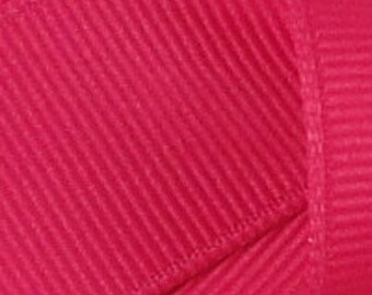 "2-1/4"" x 10 yards Solid Grosgrain Ribbon- SHOCKING PINK"