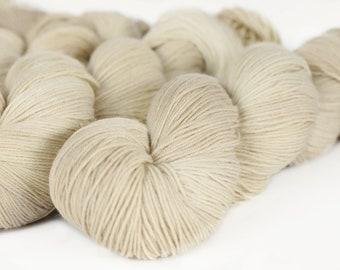 TONAL: QUARTZ 463 yards on 'Posh' Sock Yarn/ 4 ply merino, kettle dyed tonal yarn