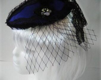 Victorian headdress, gothic, lolita