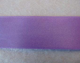 Double faced satin ribbon, Lavender (S-302)