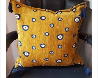 Galeri Tunc, Istanbul Turkey Accent / Throw Tassle Pillow Cushion