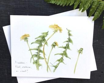 Dandelion - Greeting Card