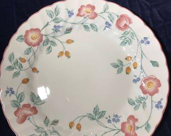 2 Churchill Briar Rose Fine English Tableware Dinner Plates