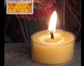 Beeswax Tea Light Candle