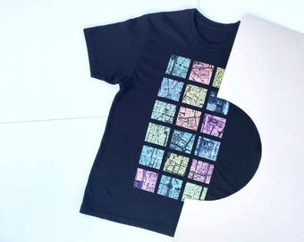 Taipei Glow T-shirt, Black, 100% Cotton