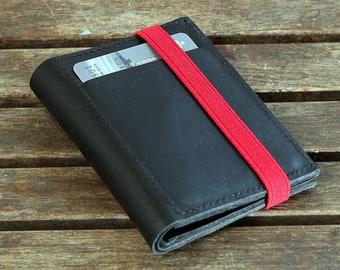 Bifold Wallet | Slim Leather Wallet | Mens Slim Bifold Leather Wallet | Mens Leather Wallet | Minimalist Wallet
