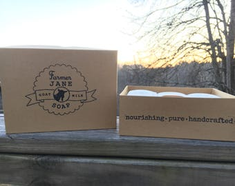 Goat Milk Soap 3 Bar Gift Box