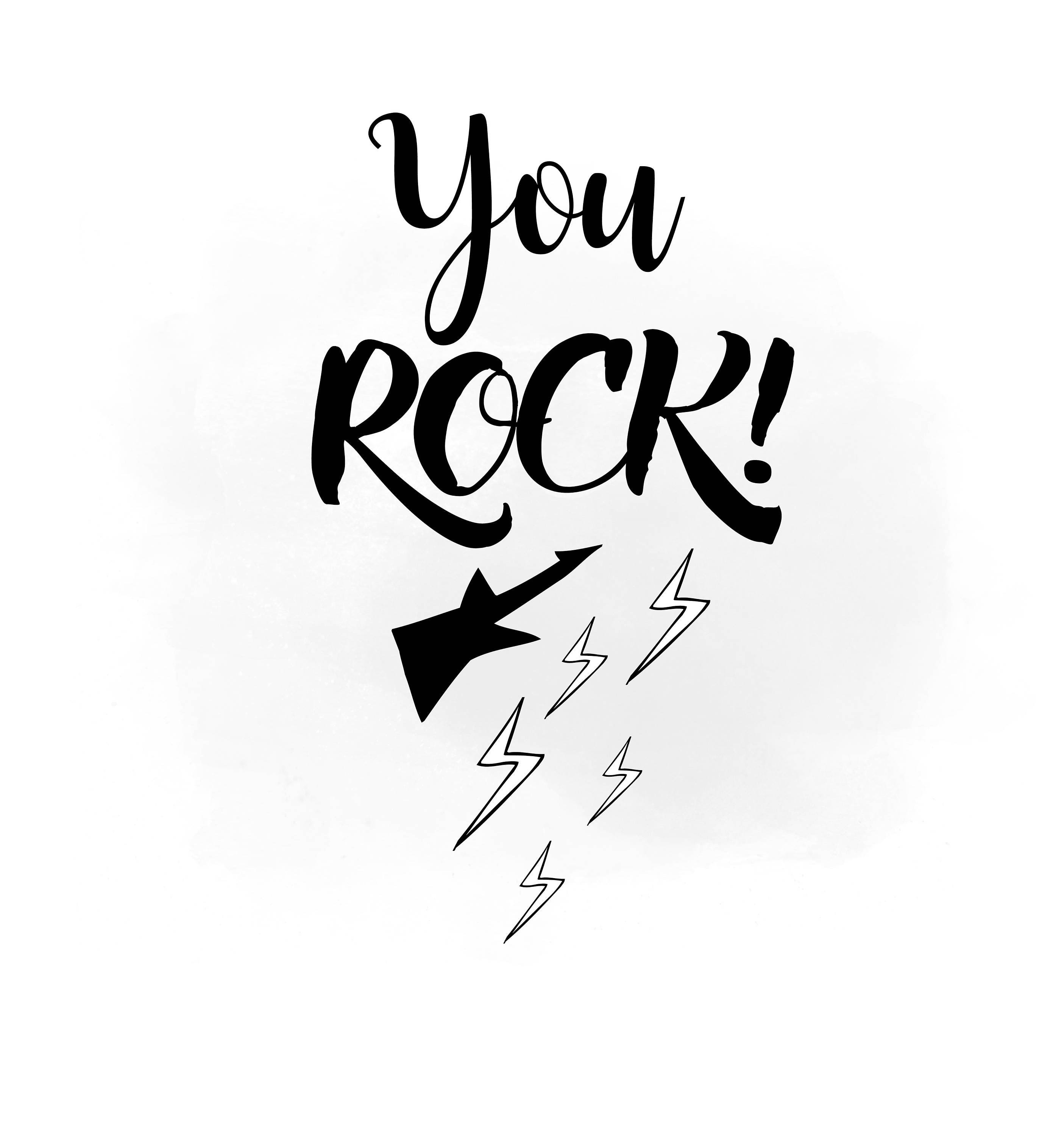 you rock svg clipart rock n roll svg you rock clipart you rock rh etsystudio com you are my rock clipart you rock girl clipart