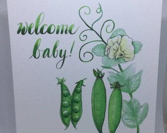 Welcome Baby by Elise Watness - Digital