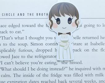 Jane Austen - Magnetic bookmark - Elizabeth Bennet || Pride and Prejudice, book lover gifts, bookmark, bookish, bookmarks, mr darcy