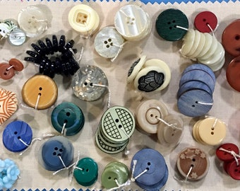 Lot of 32 New Buttons in Multiples