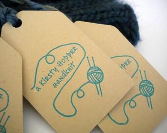 Handknit Olive Wood Stamp