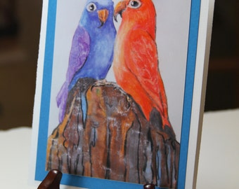 Lovebirds - Print or Cards