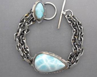 Blue Larimar Bracelet 3