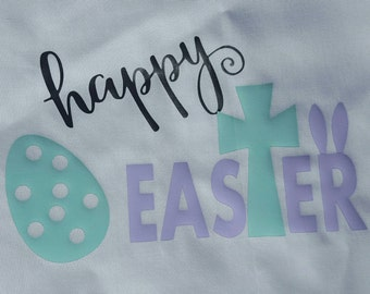 Happy Easter Baby Toddler Girl Shirt, Easter Shirt, Christian, Easter