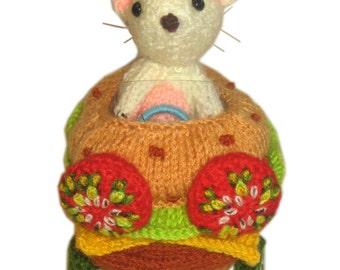 CAR BURGER pdf Email knit Pattern