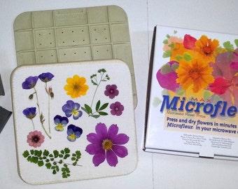 "5"" x 5"" Microfleur - Microwave Flower Press - #077"