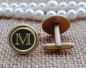 Monagram cufflinks, custom tie tacks, tie clips, custom any text, photo, personalized cufflinks, custom wedding cufflinks, groom cufflinks