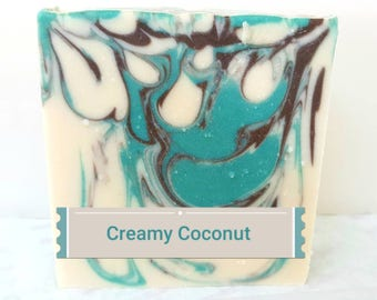 Handcrafted Coconut Soap Coconut Milk Soap, Coconut Soap, Shea Butter Soap